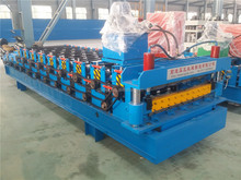 cnc aluminum roof panel corrugated iron sheet roll forming machine for house construction