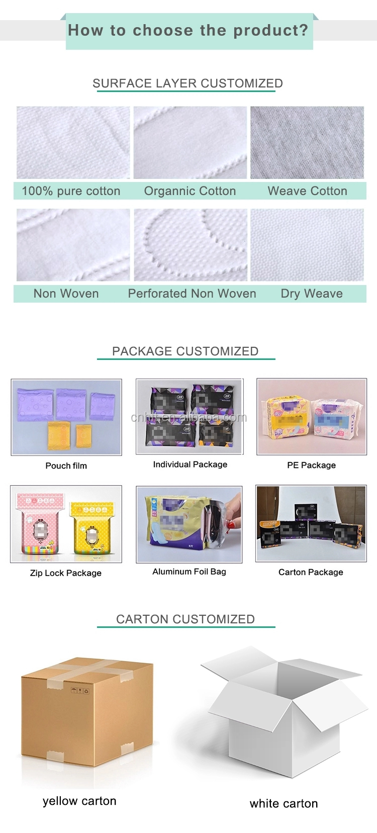 Cotton Winged Regular Super Absorbent Disposable Anion Shymoon Sanitary Napkins