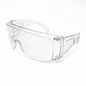 df7065a92f Get Quotations · JORESTECH Eyewear – Safety Protective Glasses Prescription  Frame Compatible (Clear)