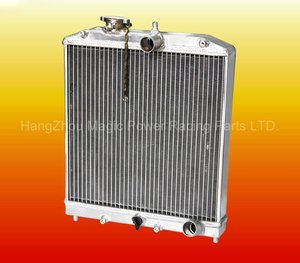 New High Performance Car Parts Aluminum Radiator For Civic
