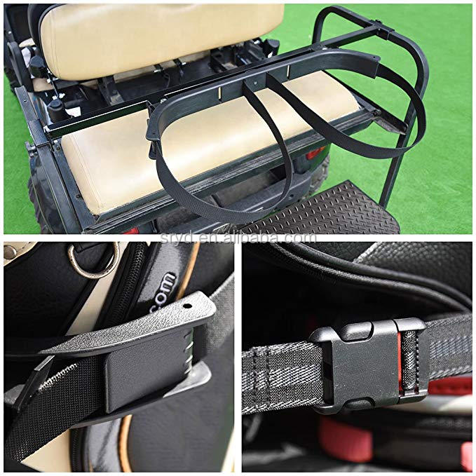 Golf Bag Attachment For Golf Cart
