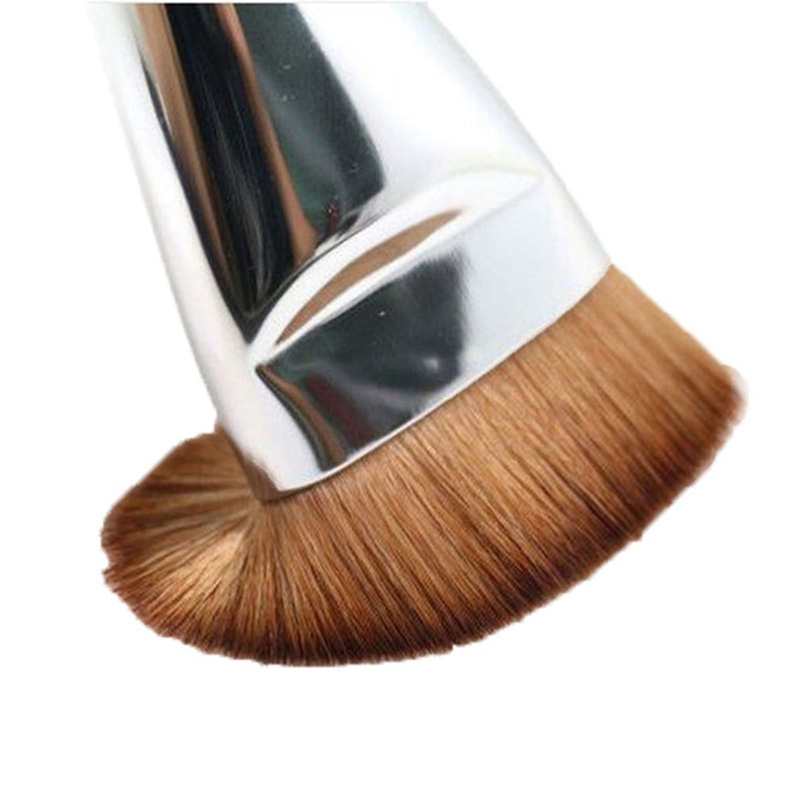 3Pcs New Fashion Flat Contour Professional Makeup Brushes Blush Foundation Brush Blend For Foundation Comestic