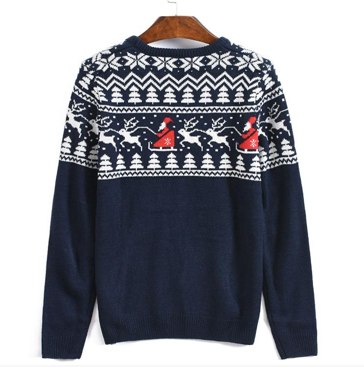 ニットメンズジャンパー醜いクリスマスセーター
