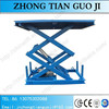 Hydraulic towable scissor lift platform elevator table goods lifter