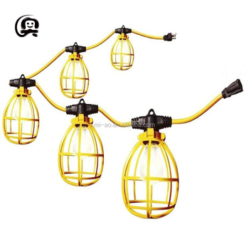 Construction String Lights Custom Ulcsa Temporary Construction S60 Edison Bulb Lighting For Weddings
