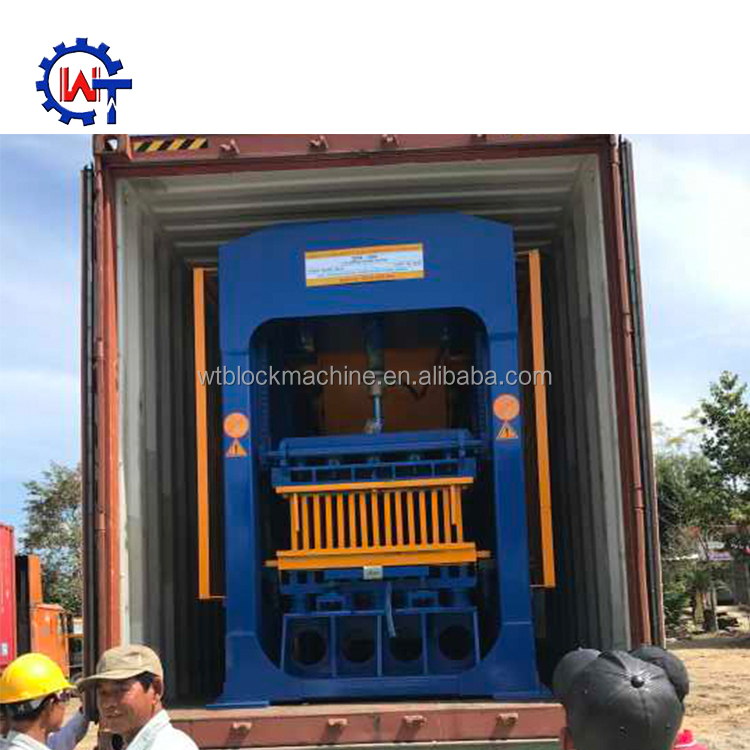 QT 8-15 brick making machine block machine nigeria