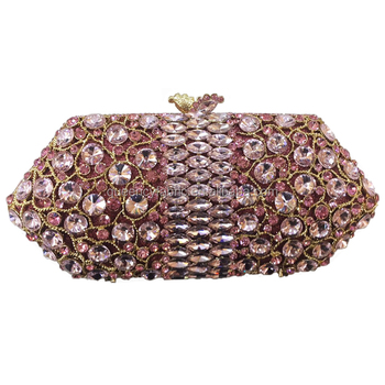 bd10278c87 Queency Elegant Ladies Crystal Stone Small Clutch Party Bags Guangzhou  Wholesale
