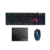 Wholesale USB gaming keyboard and mouse combo with backlit