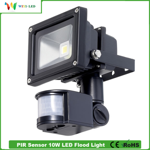 Affordable Outdoor Lighting: Big Discount Outdoor Floodlight AC100 240V 10W PIR LED