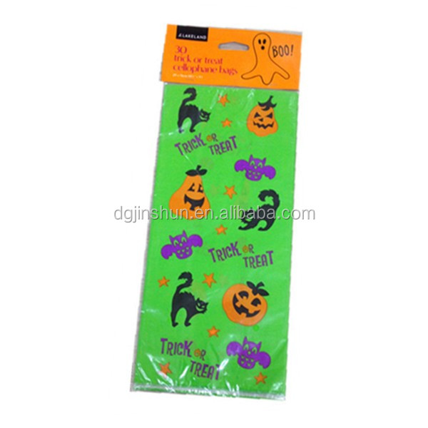 Opp bag packing small size plastic cello CANDY bag