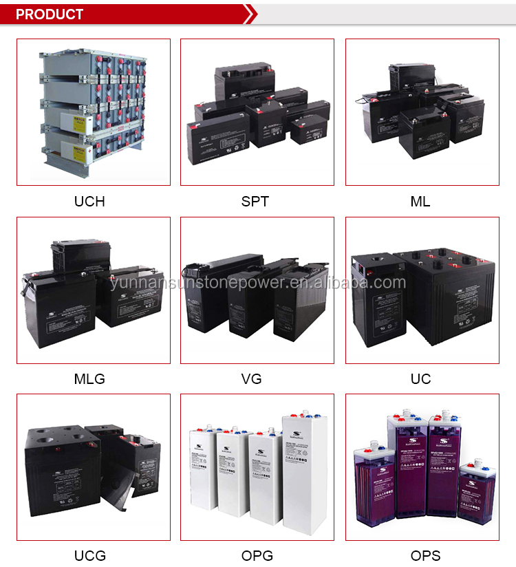 China factory direct new custom design 6v 4ah rechargeable Agm lead acid battery