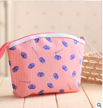 Multi-warna Lady Travel Kosmetik tas Make Up Pouch Bag