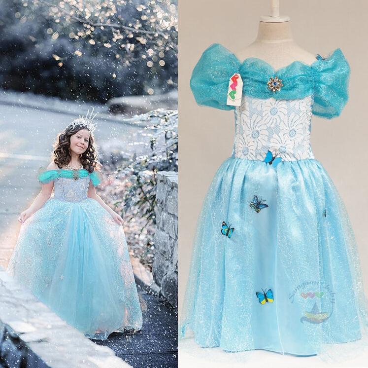 2015 Summer Baby Girls Cinderella Princess Diamond