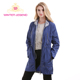 fashion european style women casual thin long trench coat spring autumn