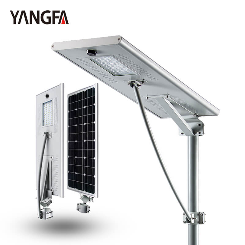 Factory price outdoor ip65 45w all in one solar led streetlight