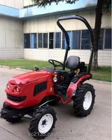 16hp lawn Garden Tractor 4X4 with Perkins Diesel Engine