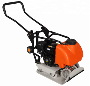NOAH P120 Hand held hydraulic gasoline engine concrete plate compactor machine for excavator