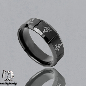 Macho High Quality Mens Tungsten Carbide Masonic Rings,Wholesale Size 4 To  Size 15 Tungsten Masonic Rings - Buy Masonic Rings,Tungsten Carbide Masonic