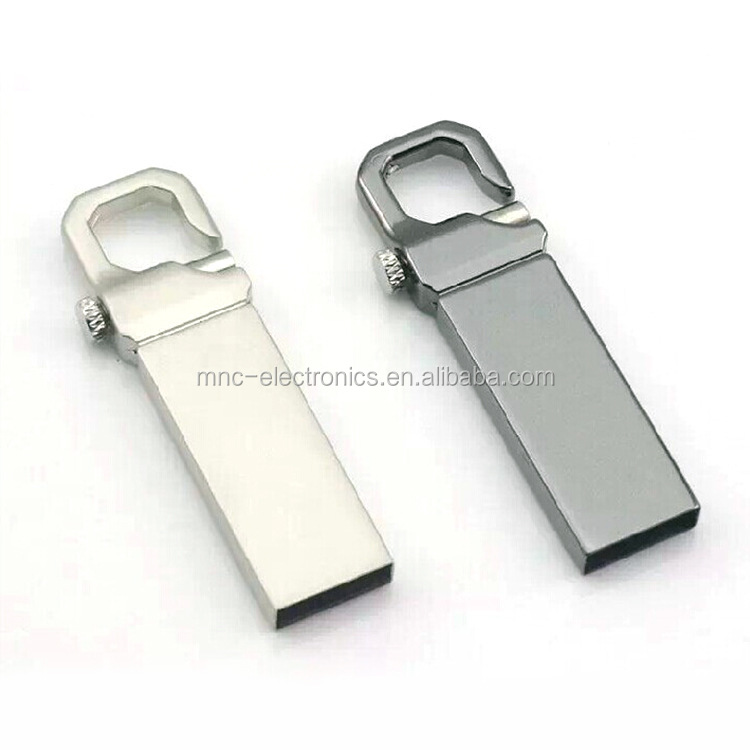 Hook Clip Lock Metal 16G Micro USB Flash Drive Storage Memory Stick