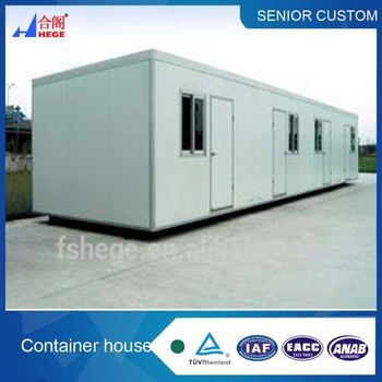 flat pack competitive price prefabricated accomodation container house