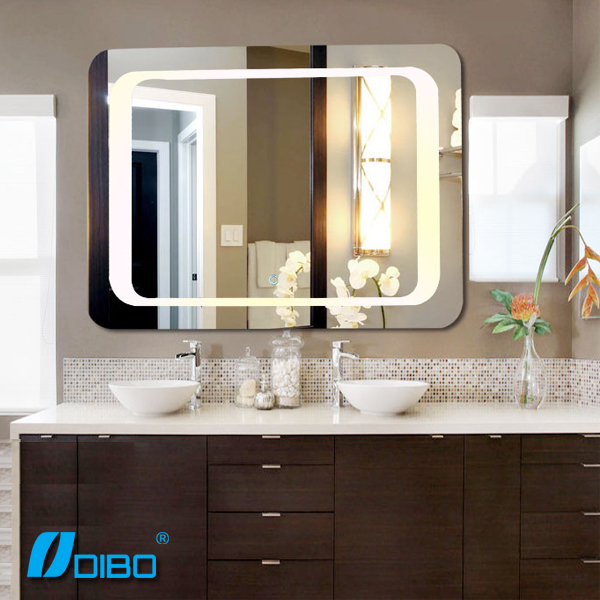 Salle de bain intelligente miroir avec mp3 bluetooth for Miroir indonesia