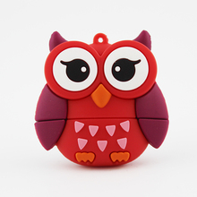 owl shaped usb pen drive , wholesale cheap usb stick pendrive , free sample usb flash drive