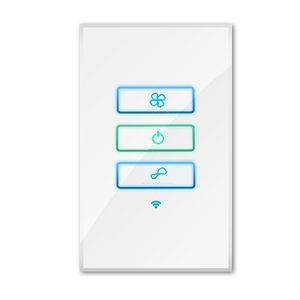 WIFI smart fan switch for smart home controlled by android and IOS remotely and locally fan controller