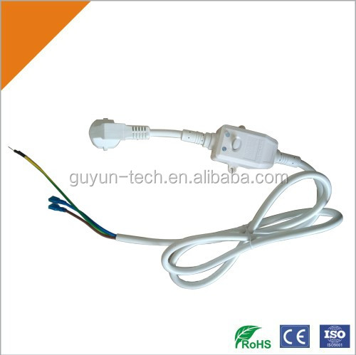 High Quality 110V AC Leakage Protection Power Cord