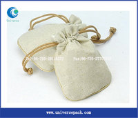 linen sachets lavender bags Customized linen drawstring bag