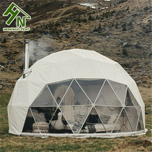 New Design 연방은 강 Structure Canvas Luxury Camping Tent 와 침대