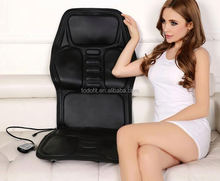 Body care massage chair with neck and back massage cushion