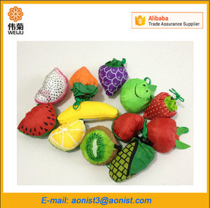 Cute Fruit Fish Animal Foldable shopping Bag