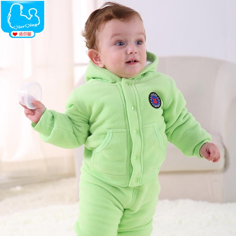 Зимний костюм хлопок одежды мужчин и женщин 0 - 1 - 3 лет ребенок зимняя одежда толстая куртка костюм