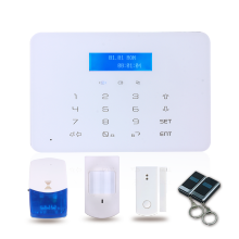 Low Cost wireless door sensor security alarm system with Wireless Optional Accessories
