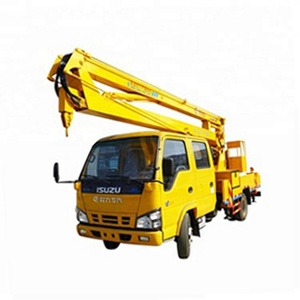 Two , three , four or five arms No. jmc 12 m aerial working platform 20-22 m faw high-altitude operation truck