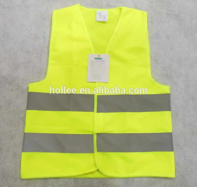 EN471 cheap fluorescent high quality child safety vest