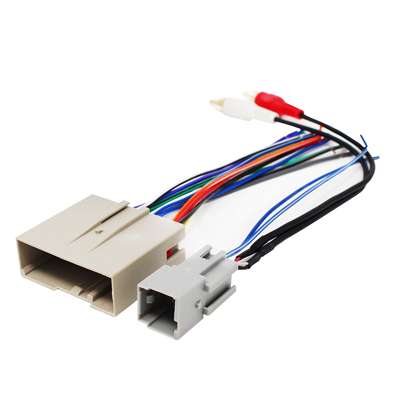 Replacement Radio Wiring Harness for 2004 Ford F-350 Super Duty Lariat Cab /& Chassis 4-Door 6.0L Car Stereo Connector
