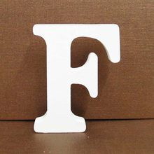 1 шт., 8 см, A-Z, 0-9, белые деревянные буквы, Английский алфавит, номер, отдельно стоящий, индивидуальное имя, дизайн, искусство, ремесло, свадьба, ...(Китай)