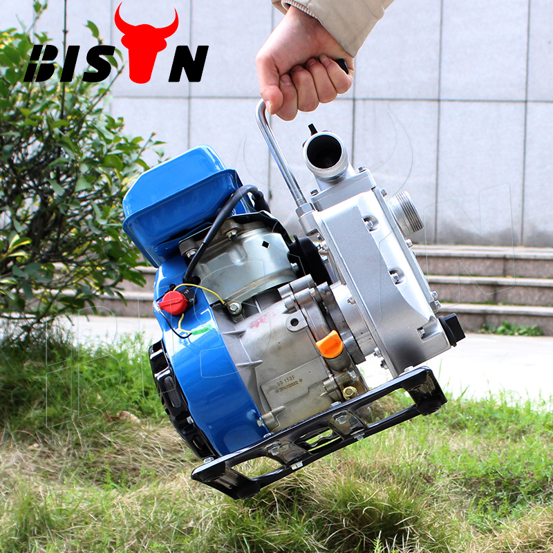 BISON(CHINA) Factory Price Small petrol 1.5 inch high pressure electric water pump for irrigation