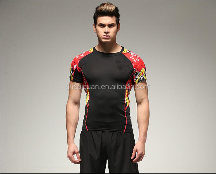 Custom Sublimation T-shirt for Men sports wear Quikc dry Gym workout Sublimation tshirt