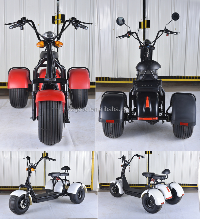 Gaea long range china electric moped e motorcycle scooter