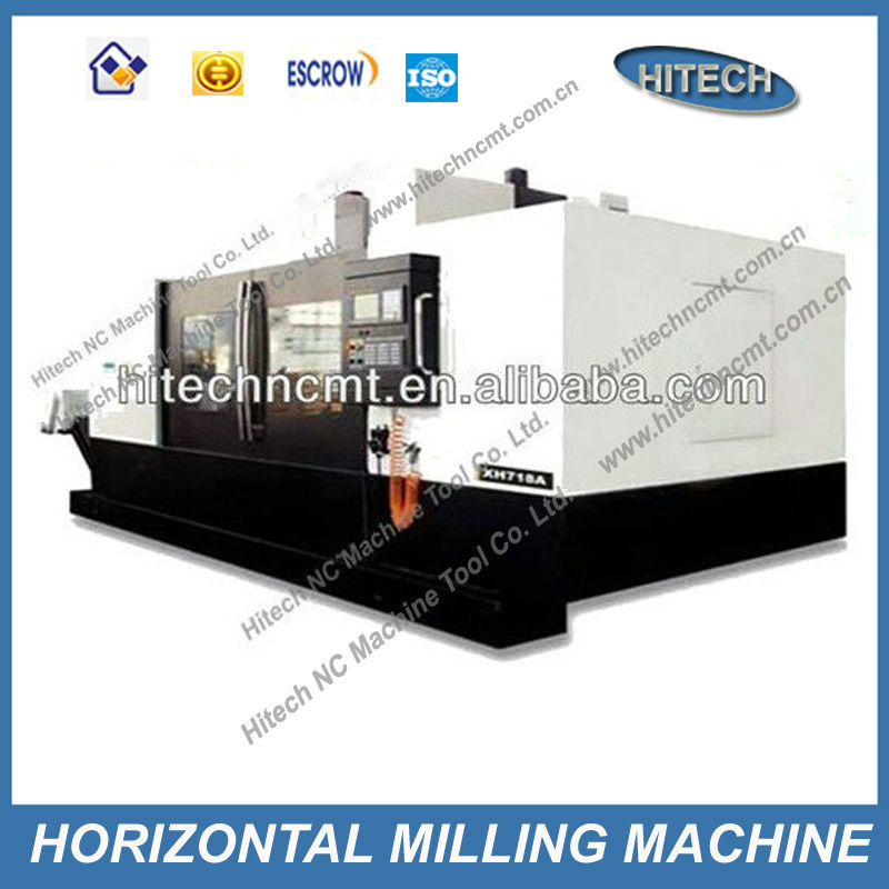 XK718A horizontal mill machine tool price high precision CNC miller for sale manufacturer of China CNC milling machine