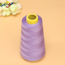 40 2different types poly/poly polyester sewing threads 40/2 for weaving