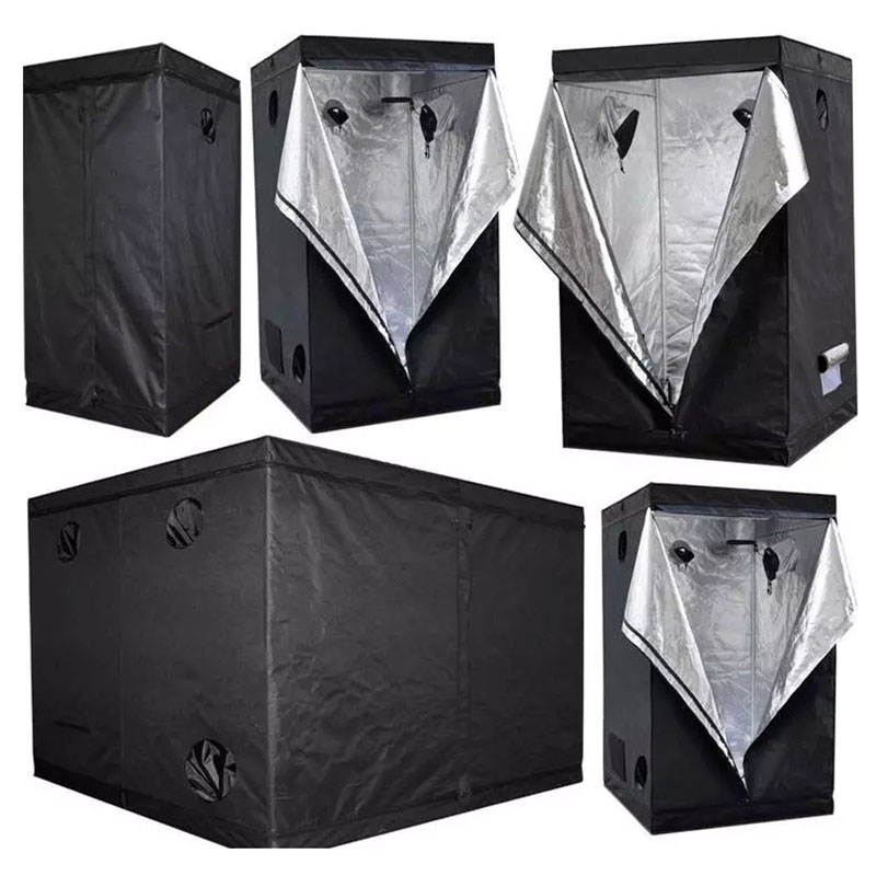 La serra crescere tenda completo kit grow box 600D di coltura idroponica dell'interno 150*150*200 centimetri 1000 w 1200 w led coltiva la luce