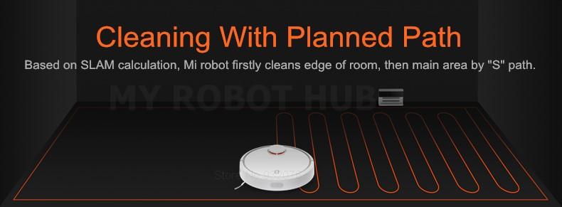 XIAOMI Robotic Vacuum Cleaner MIHOME Original Planned Type ASPIRADOR, LDS  Scan Mapping WiFi app Control