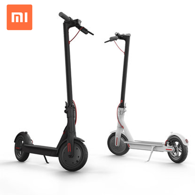 2019 Original xiao mi M365 foldable electric mobility scooter OEM, White black