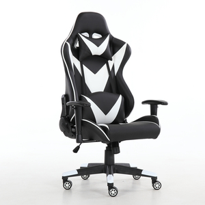 Gaming Office Chair Game Racing Ergonomic Backrest and Seat Height Adjustment,Gaming Chair with Pillows Recliner Swivel Rocker