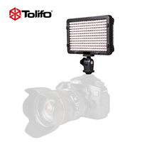 Tolifo Ultra-Compact LED Camera Video Light LED Photo Light Dimmable Panel with two color filters On-Camera Light for DSLR