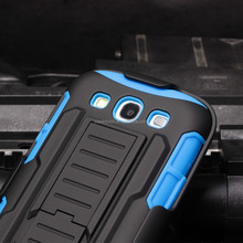 2017 NEW!Belt Clip Holster Combo Case for SAMSUNG GALAXY S3 i9300 Phone Case