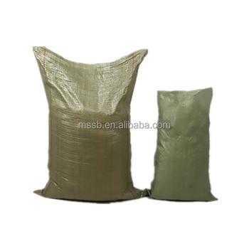 Military Sandbags Deluxe Quality Hold 50 Lb Sand 20 Polypropylene Empty Heavy Duty Green Poly Bag Bags Sandbag Woven
